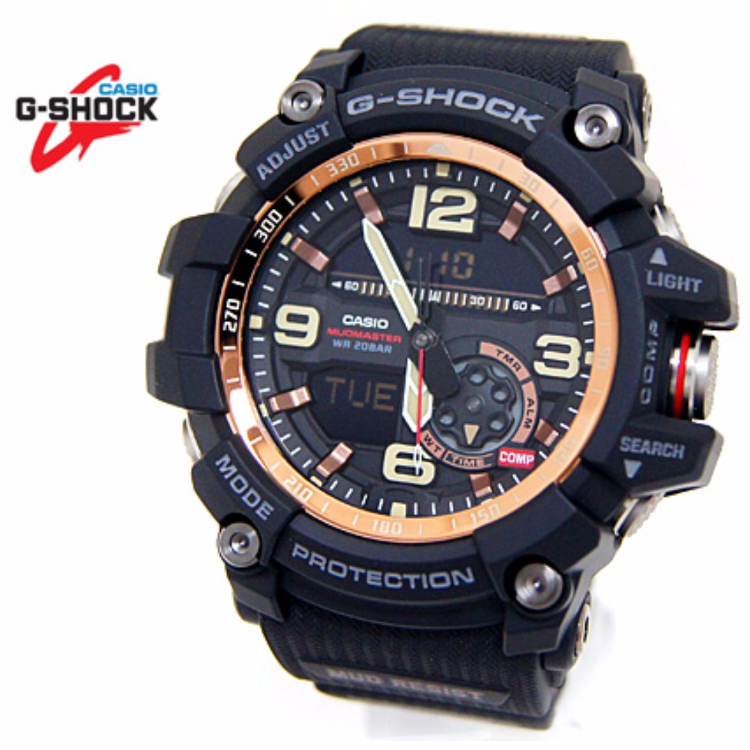 41043d35806 Casio G-Shock Master of G Mudmaster Series Rose Gold GG-1000RG-1A GG ...