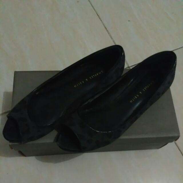 Charles & Keith Wedges Shoes (reprice)