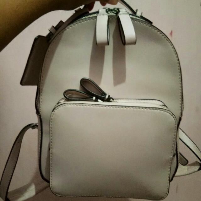 CHARLES AND KEITH BACKPACK (REPRICE)