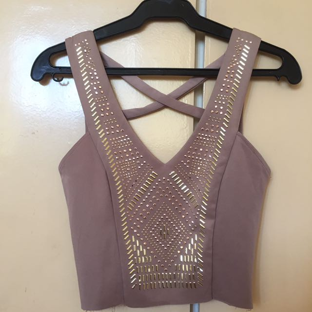 Charlotte Russe Cropped Top
