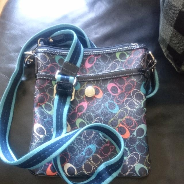 SOLD Coach Side Purse