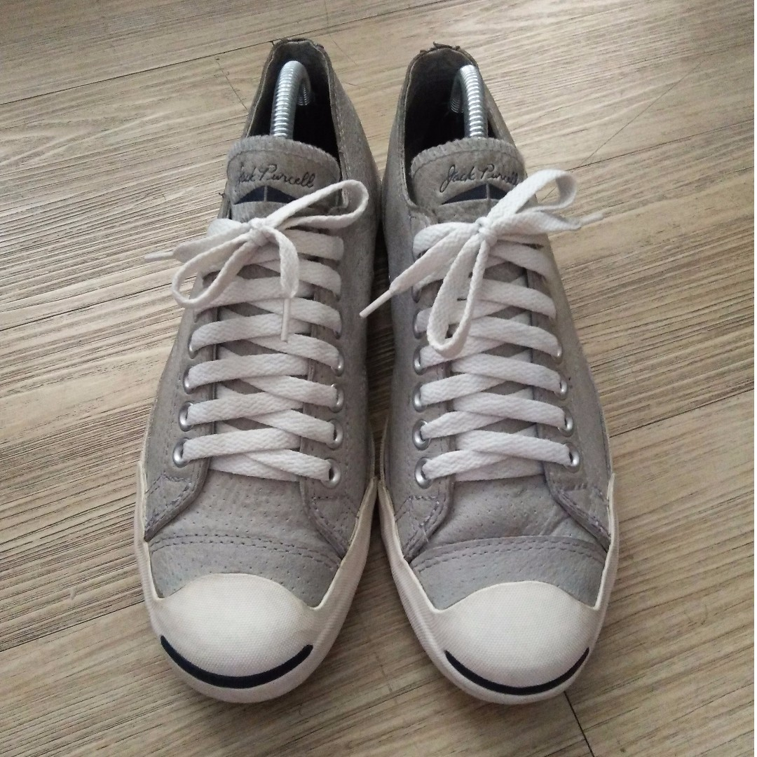 Converse Jack Purcell Leather Grey