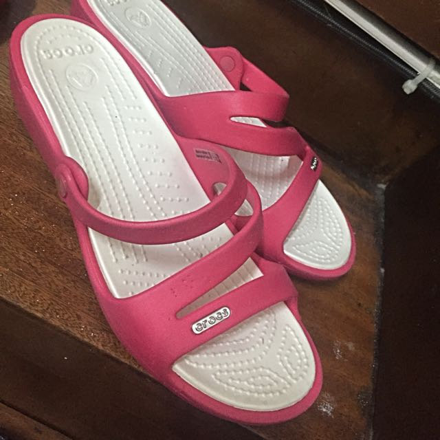 Crocs Pink Slippers sale geniue stockist buy cheap official eaggTtbj
