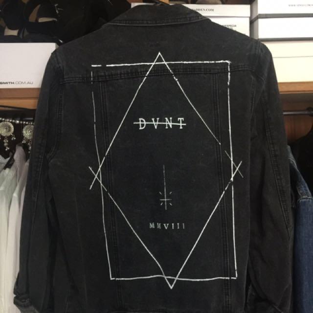 DVNT Black Denim Jacket