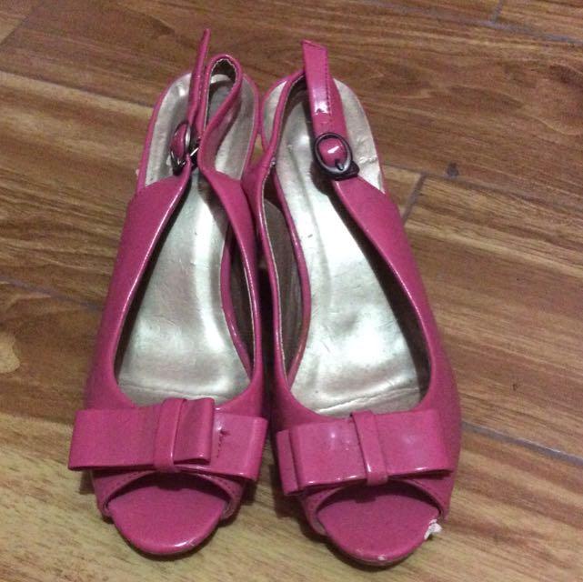 Fladeo Pink Heels
