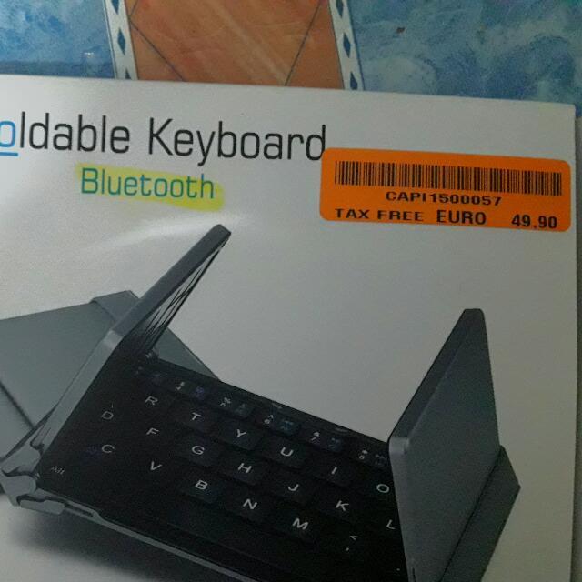 foldable keyboard bluetooth
