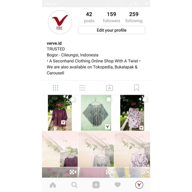 FOLLOW @VERVEID ON IG