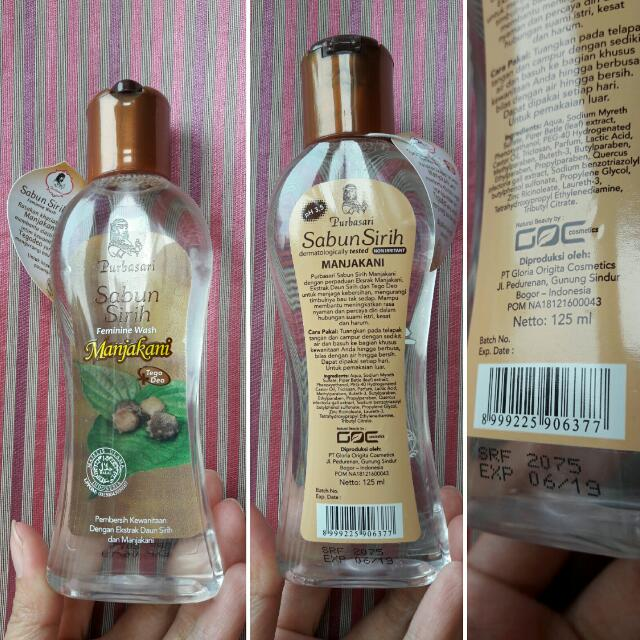 (Free) (New) Purbasari Sabun Sirih Manjakani 125 ml Untuk Pembelian Item Preloved The Body Shop Tea Tree Facial Clearing Wash Or Tea Tree Night Lotion