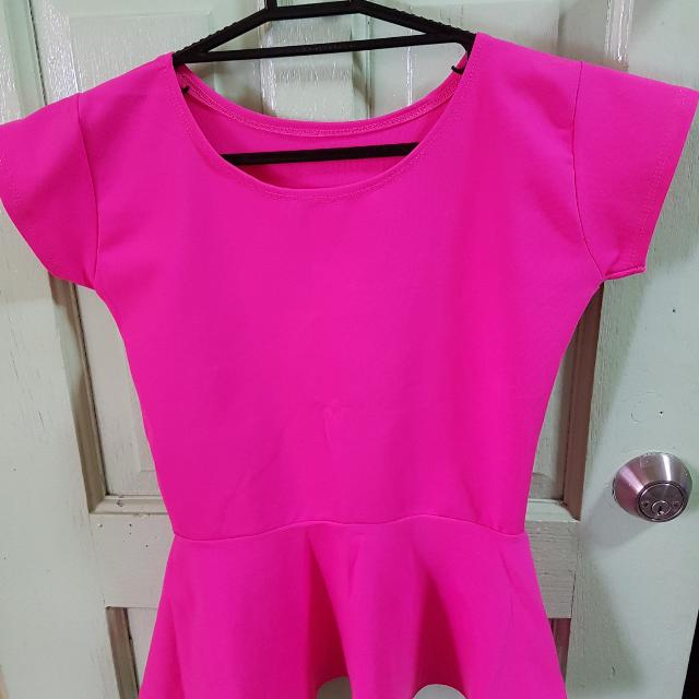 Fussia Pink Blouse