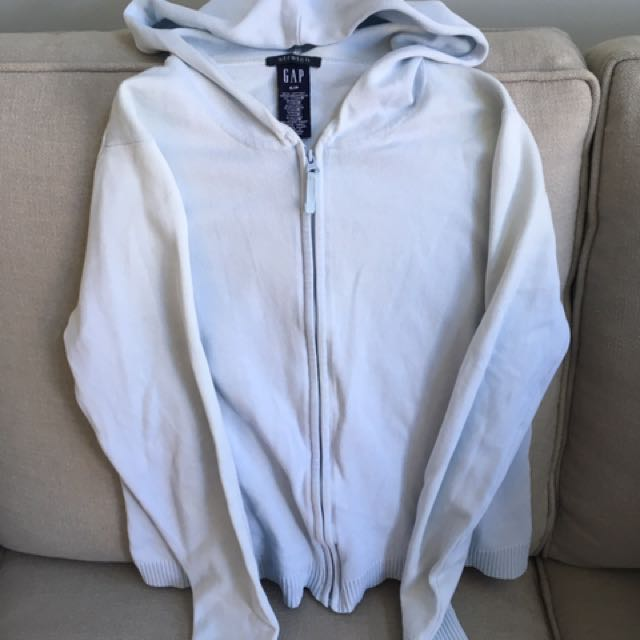 Gap Hooded Zip Up Sweater Size S