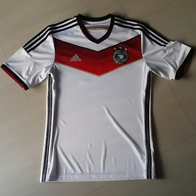 427eed9ab48 Germany 2014 Home Jersey Sz L