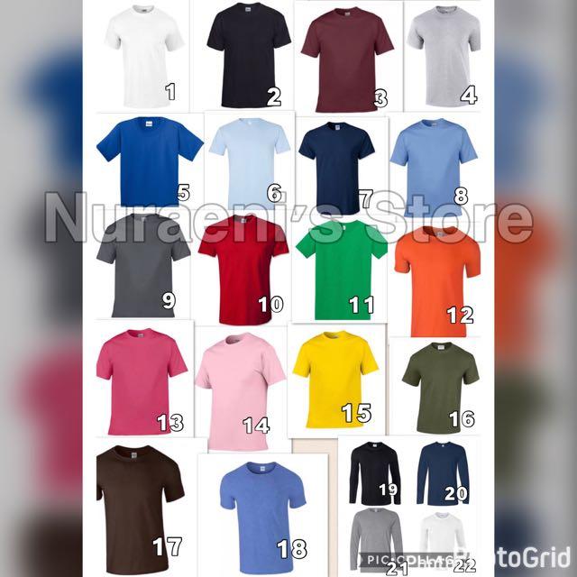 Gildan Softstyle & Premium, Short Sleeves & Long Sleeves New