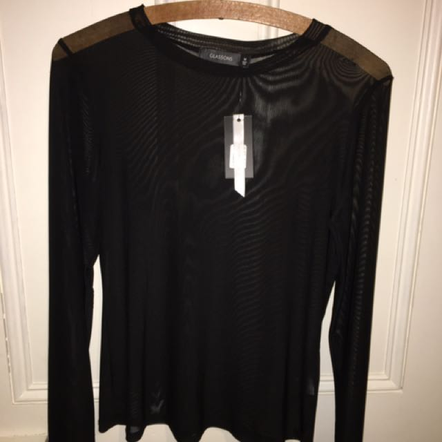 Glassons Mesh Top