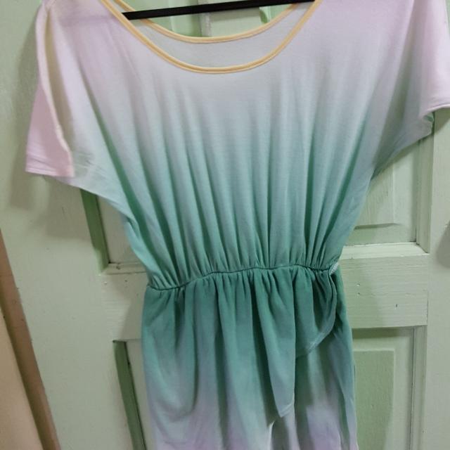 Green Dress/blouse