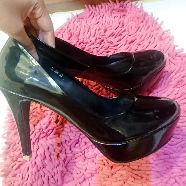 High Heels black Amante Min Condition