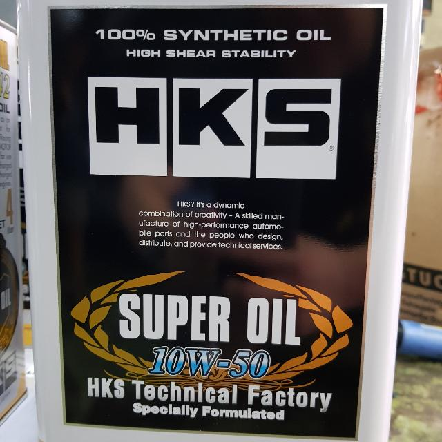 HKS Turbo Racing 10W50 Performance Engine Oil, Car