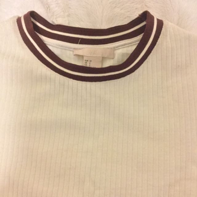 H&M Fitted T-shirt