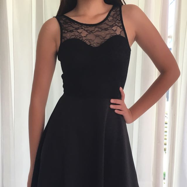 H&M Laced Party Dress
