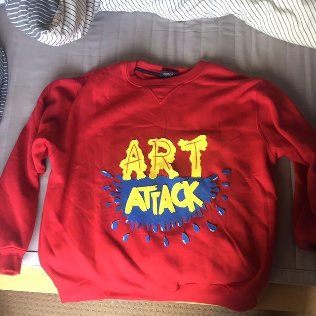 Homemade Art Attack Costume Top