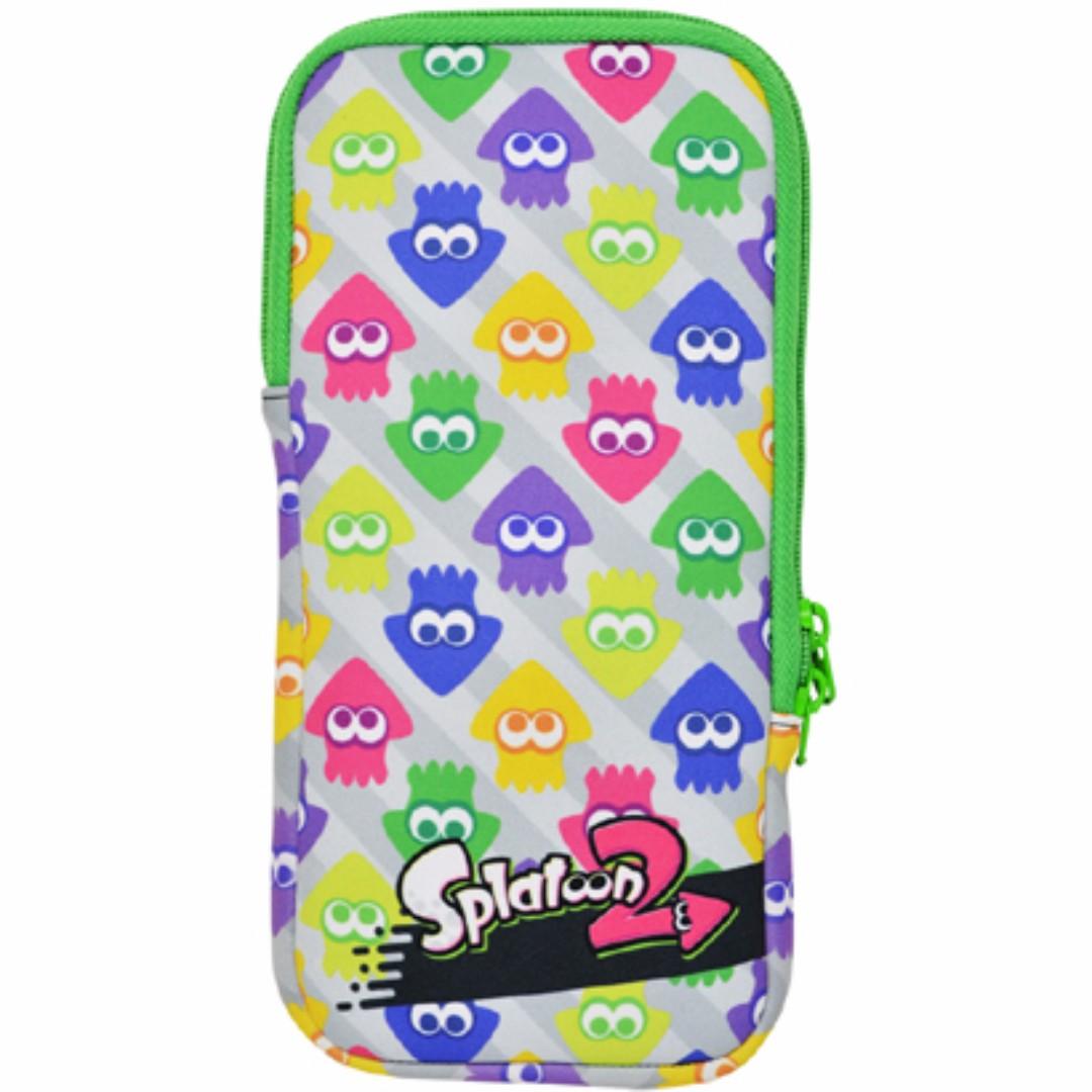 Nintendo Switch Splatoon 2 Accessories Interframe Media Quick Pouch Splatoon2 Hori Nsw 050 And Set Pre Order