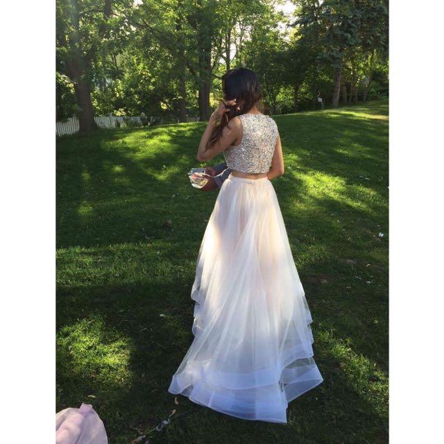 Ivory Prom Dress ✨