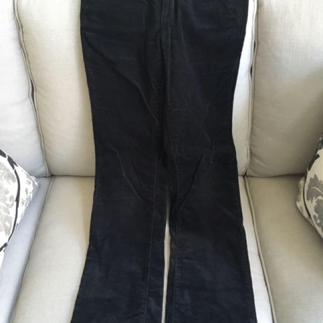 Joe fresh Black Corduroy Pants Size 2