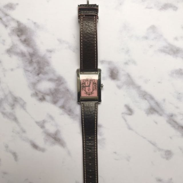 Juicy Couture Leather Watch