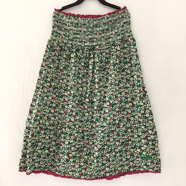 Kamiseta Floral Tube Dress