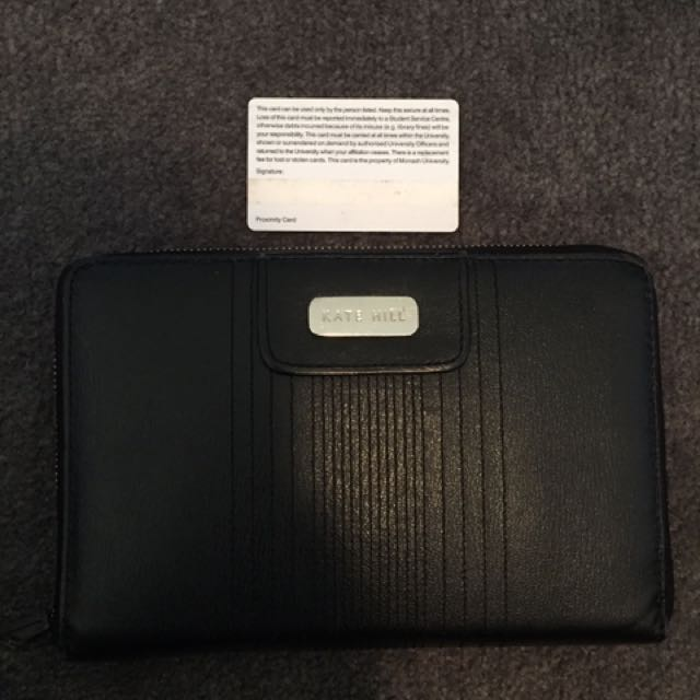 Kate Hill 100% Leather Wallet