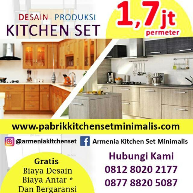 Kitchen Set Minimalis Lemari Pakaian Tv Set Kamar Set Meja