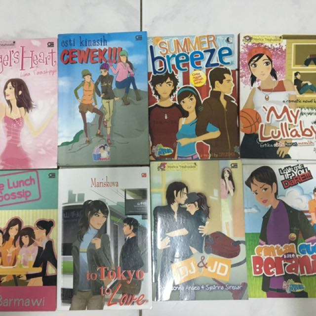 Koleksi Novel Teenlit