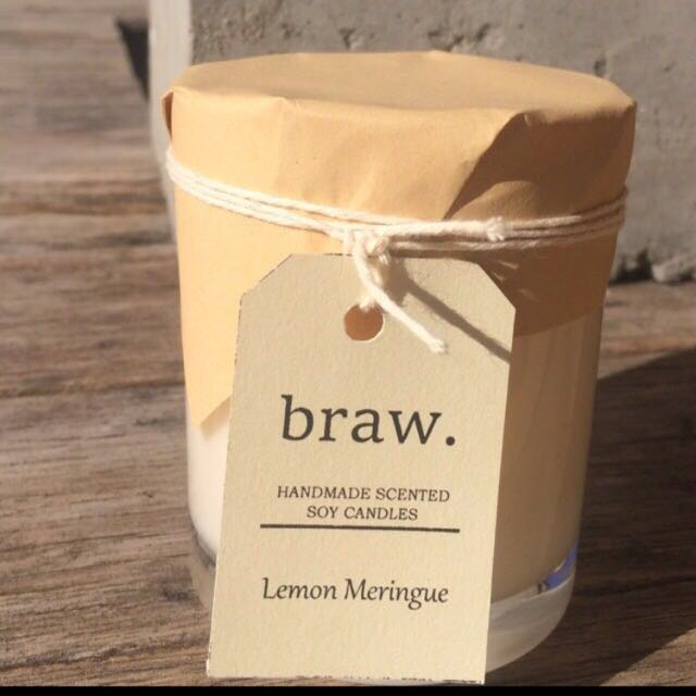 Lemon Meringue Handmade Scented Soy Candle
