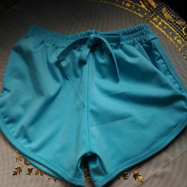 Light Blue Dolphin Shorts