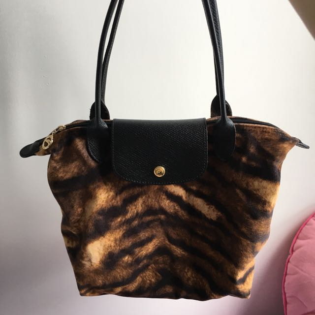 Longchamp Animal Print Handbag