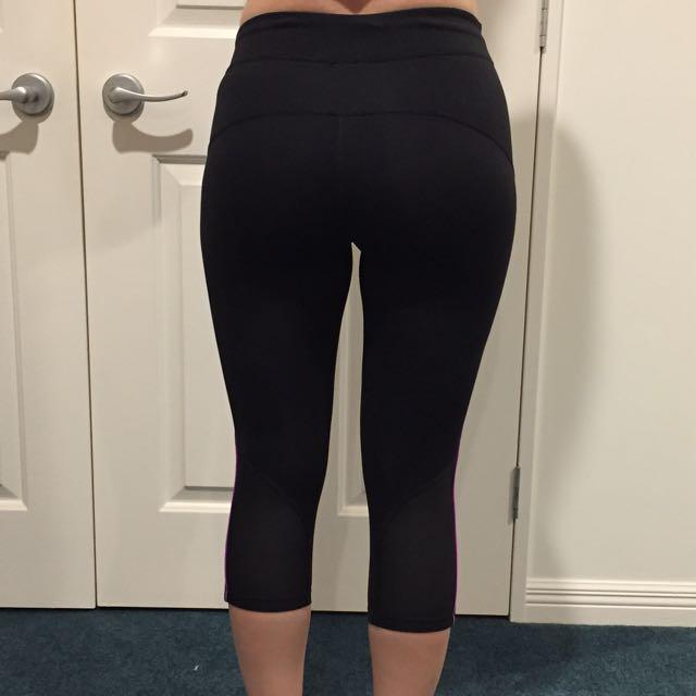 Lorna Jane 3/4 Leggings - Size 6-8