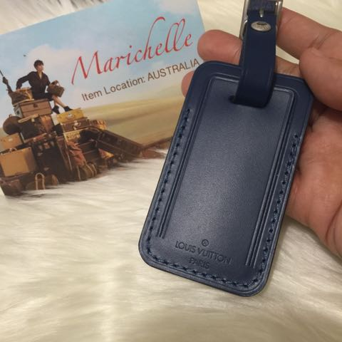Louos Vuitton Luggage Tag 2017 Model