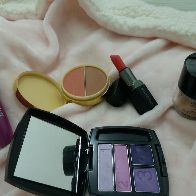 All Original makeup (Estee Lauder,Smashbox etc.)