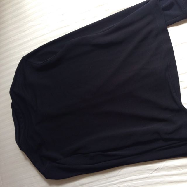 Marks & Spencer Black Long Sleeved Blouse
