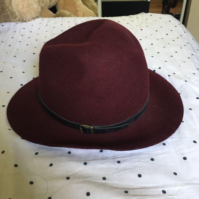 Maroon Hat ALDO