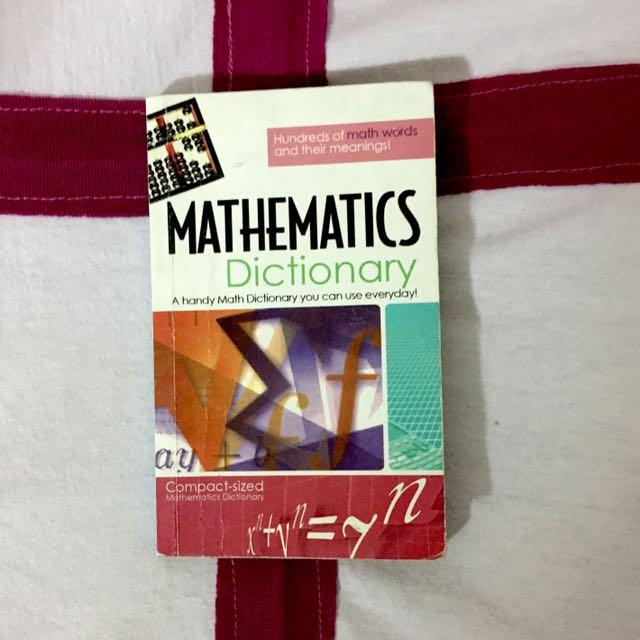 Mathematics Dictionary