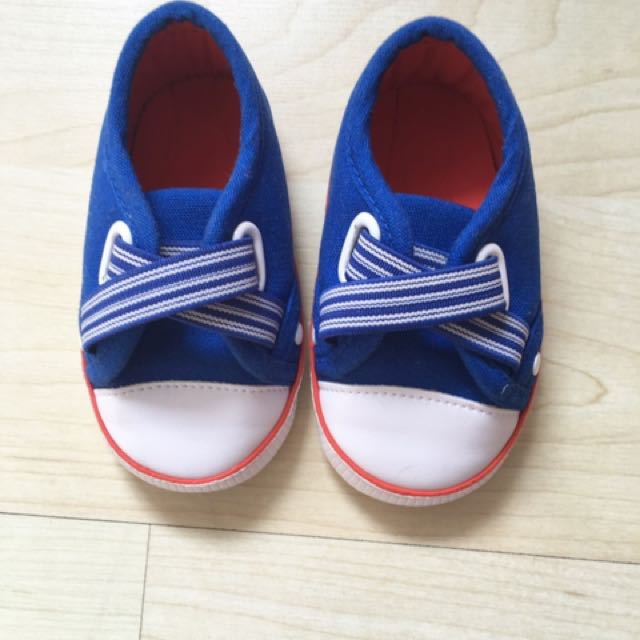 Mothercare Babyboy Canvas shoe