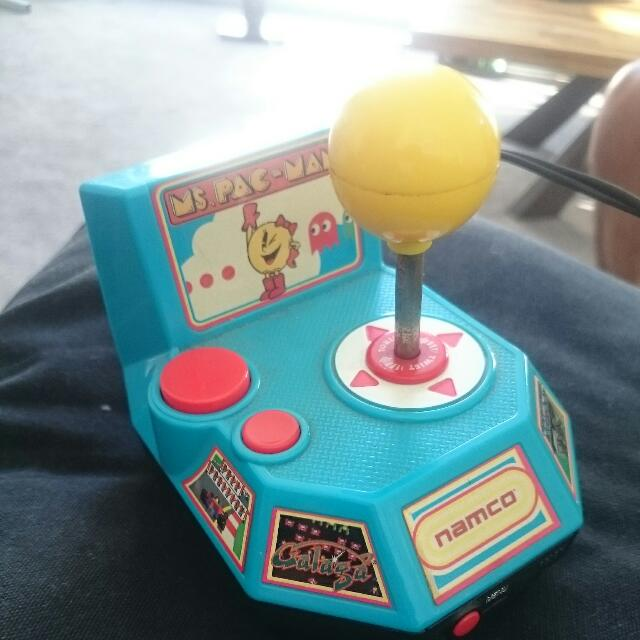 Namco Ms Pac-Man Plug N Play With 5 Collection TV Games