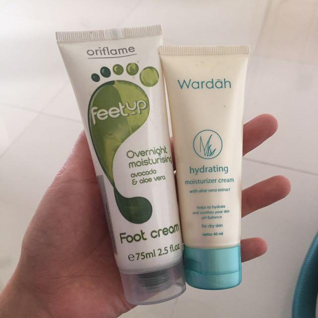 Oriflame Feetup Wardah Hydrating Share In Jar