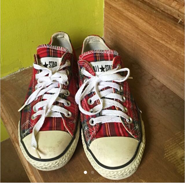 Checkered Converse Original On Repriced Carousell sxCQBrdth