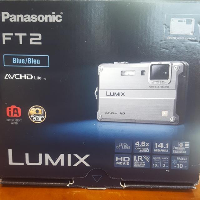 Panasonic Lumix FT2 Digital Camera (Blue)