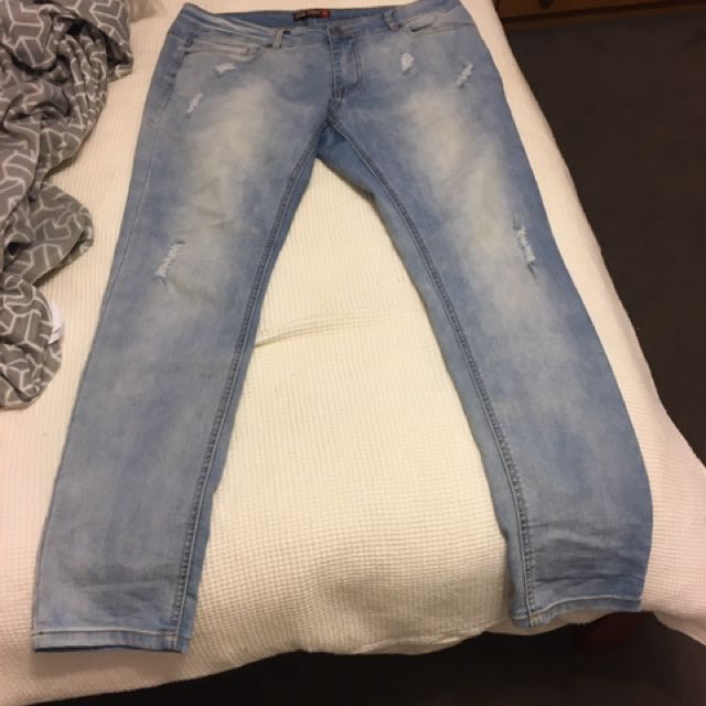 Parked Jeans