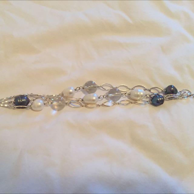 Pearl Bracelet Nora Norway