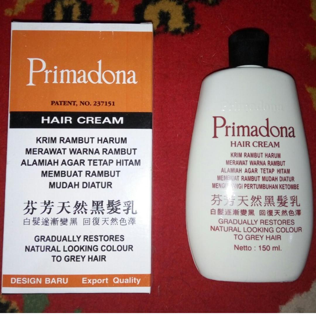 ... Primadona Hair Cream - Penghitam Rambut, Menghitamkan Uban, Menghilangkan Ketombe, Menyuburkan Rambut Harga baru. Source · photo photo photo photo