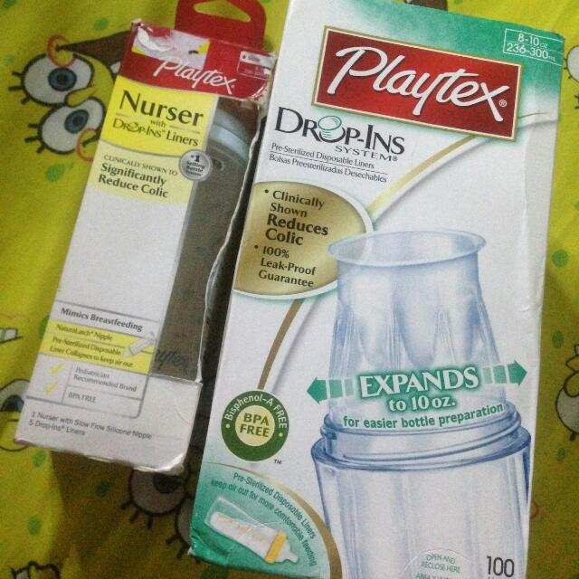 Playtex bottle With Liner