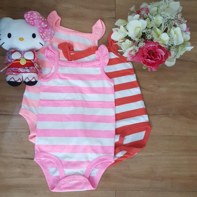 Preloved Sleeveless Onsie Set